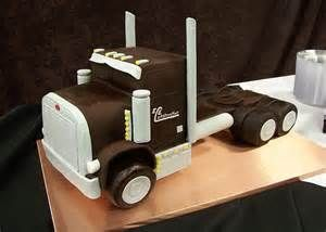Image result for Semi Truck Cake