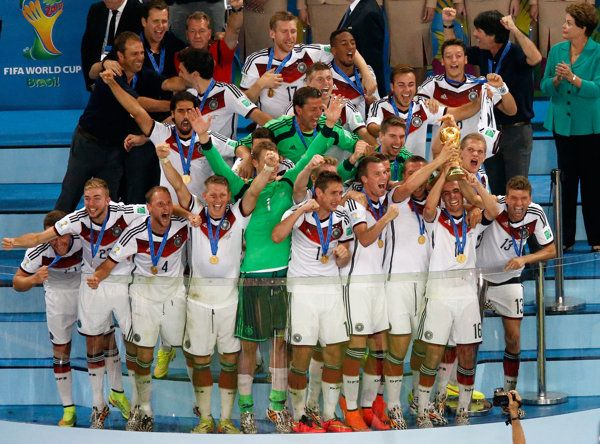 2014 World Cup Champion Germans