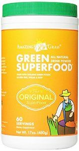Amazing Grass Green SuperFood, 17-Ounce Tub - http://handygrocery.org/grocery-gourmet-food/amazing-grass-green-superfood-17ounce-tub-com/