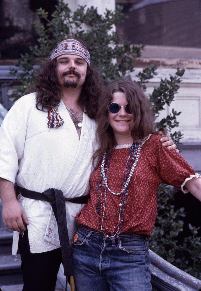 w / pig pen [grateful dead].   Another awesome photo... With Janis