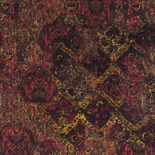 Bohemian Velvet A Beautiful Velvet Fabric With An Ogee