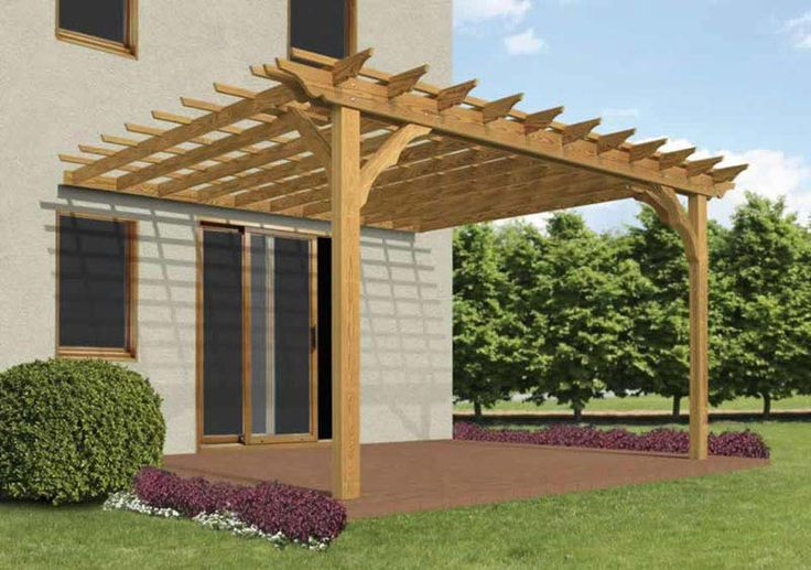 Diy-Pergola-Plans-Attached-To-House