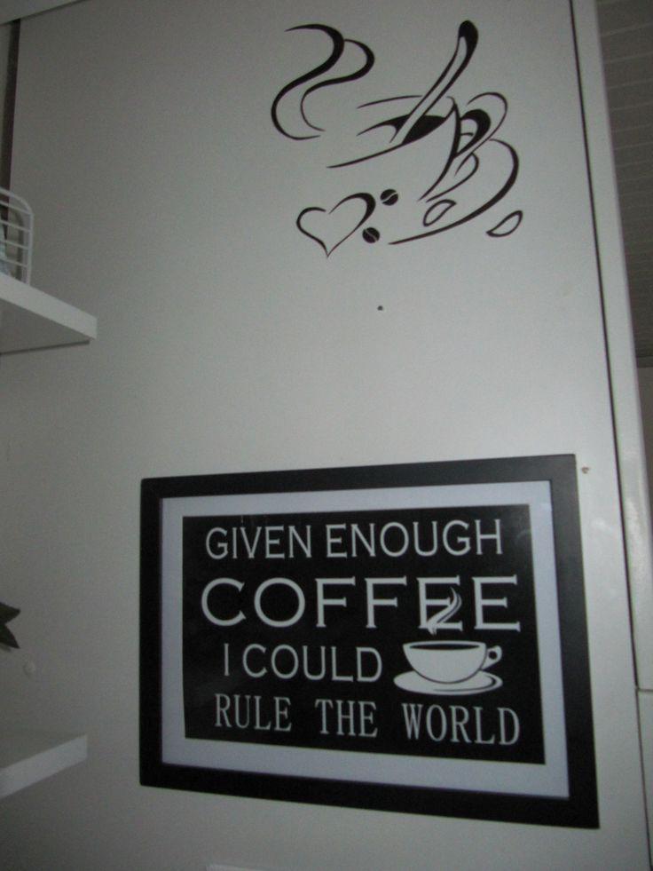 Coffee Decor, Kitchen, I Rule Dc-fix cutting
