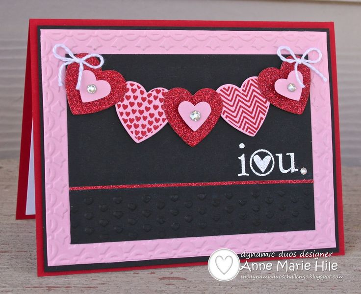 130 best Cards - Valentine\'s Day images on Pinterest | Heart cards ...