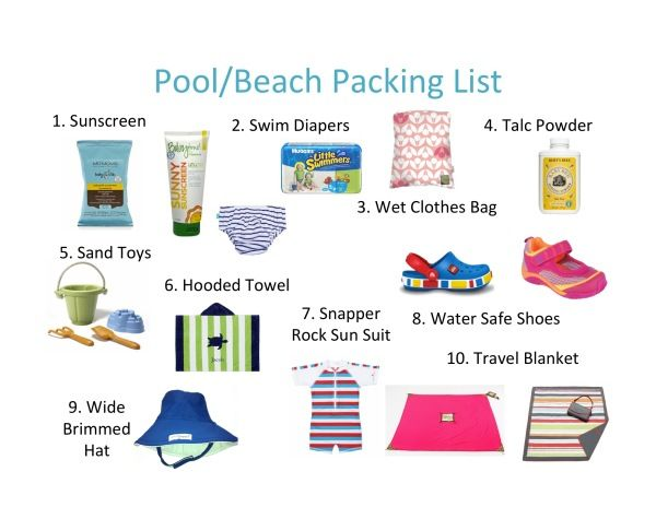 55 Best Packing Lists Amp Essentials For The Beach Images On