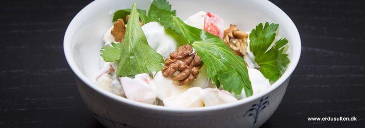 Billede af waldorfsalat - hjemmelavet og fedtfattig
