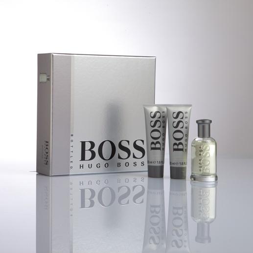 HUGO BOSS  Boss Bottled  I classici valori dell'eleganza e dello stile si riflettono in questa fragranza sofisticata e calda che motiva elegantemente la personalità sicura di sé e determinata di chi la indossa.