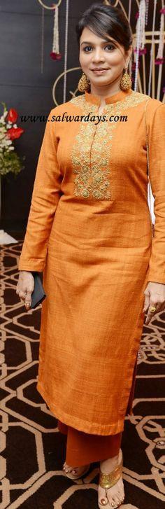 I would like yellowish mustard color for the kurta