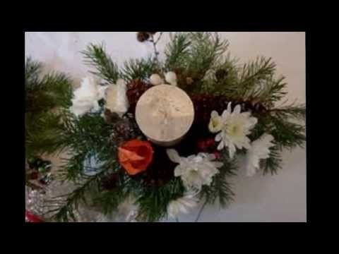 Weihnachtsdeko – Adventsgesteck   Do it yourself