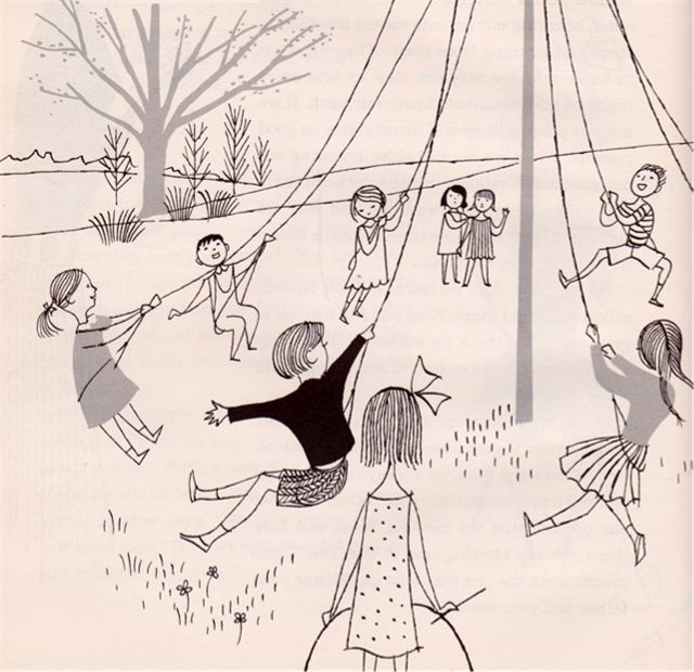 The March Wind - written by Inez Rice, illustrated by Vladimir Bobri (1957).