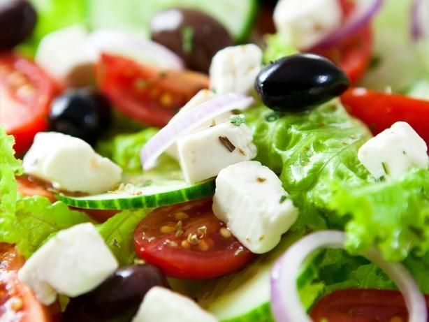 This is Ina Gartens highly rated Greek Salad recipe, featured on Food Network. The dressing is to die for!