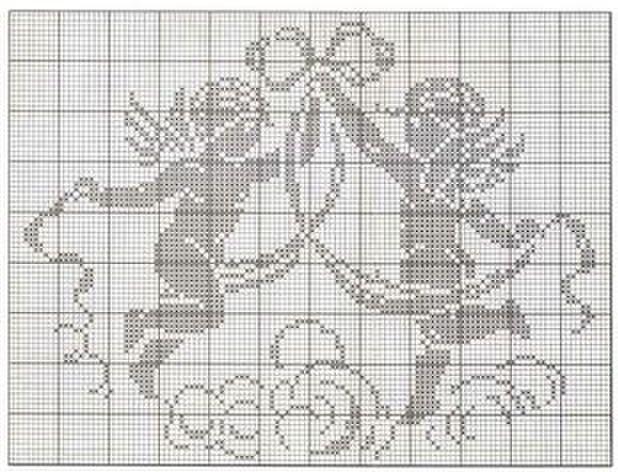 (2) Gallery.ru / Photo # 173 - Rare and beautiful scheme (2) - Olgakam cherubs, crochet filet
