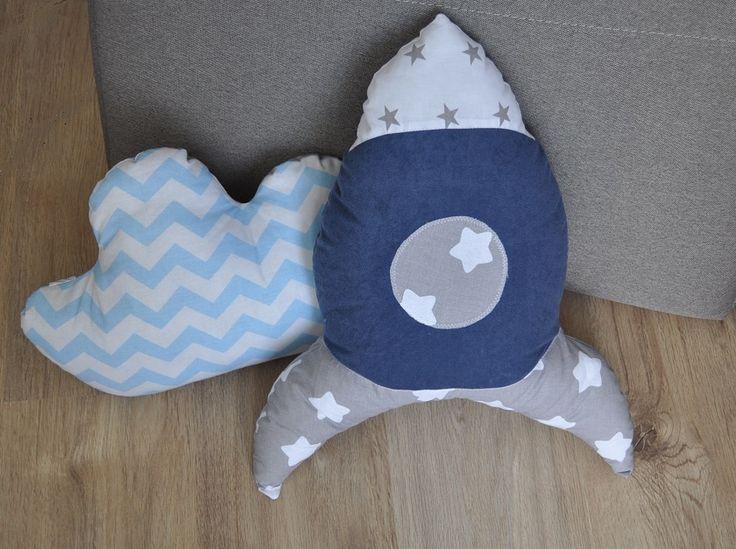 Poduszki chmurka i rakieta Pillow cloud and racket