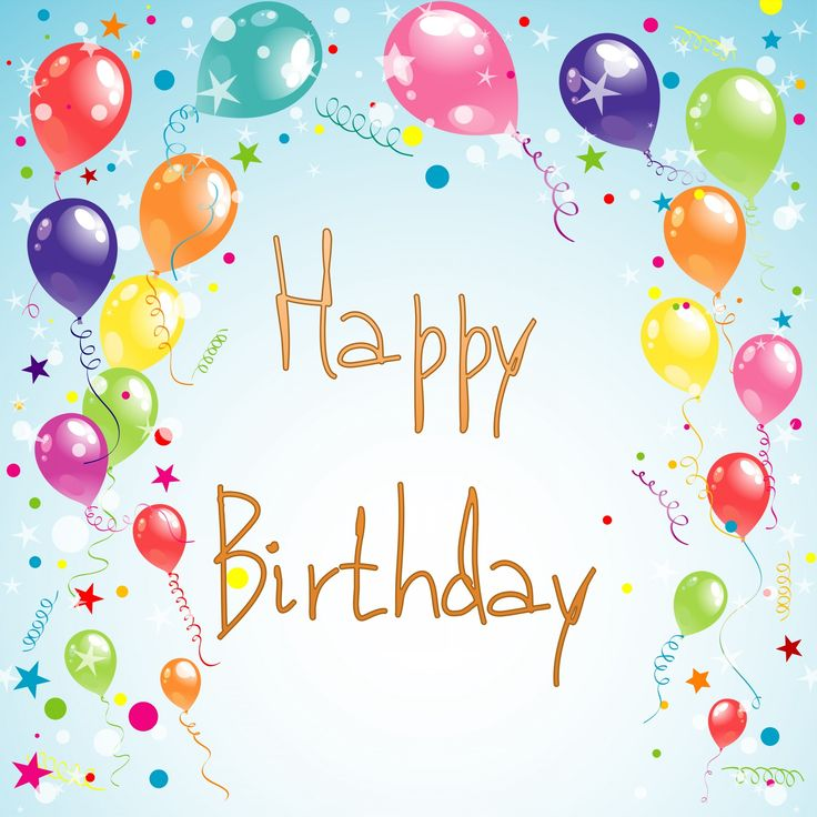 292 best images about Happy Birthday Balloons on Pinterest  Birthday wishes,...