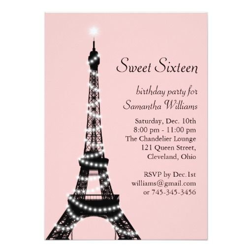 411 best 18th Birthday Party Invitations images on Pinterest