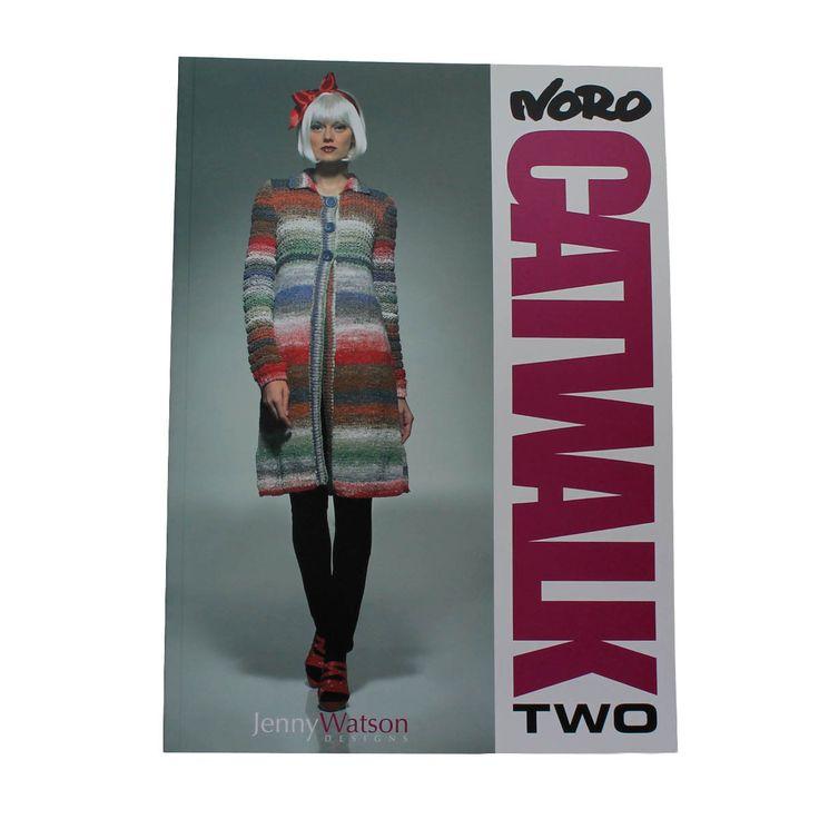 NORO CATWALK TWO by Jenny Watson Designs - 16 Fabulous Designs/Pattern – TUPPY'S AUSSIE FABRICS