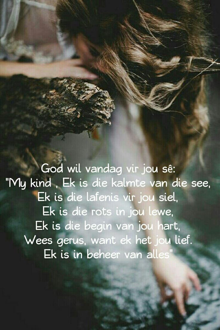 God is in beheer... #Afrikaans #iBelieve (God is in control)