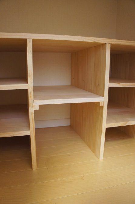 極狭☆階段下収納に棚をDIYしました : 「ここちよい暮らし」の作り方 DSC07425