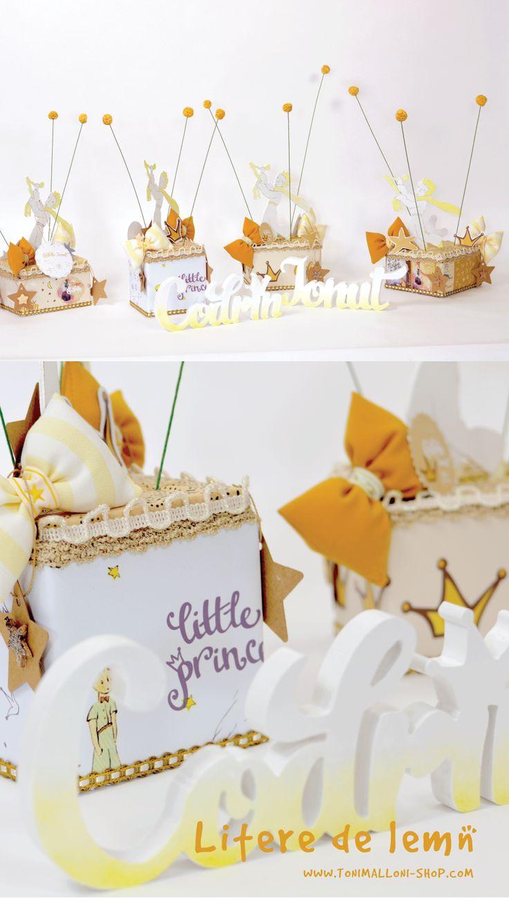 Botez Le petit prince Micul Print decoruri Www.tonimalloni-shop.com