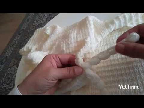 Kapşonlu Bebek Hırkası Tam Anlatımlı Videosu - YouTube