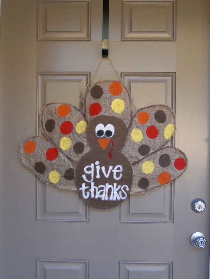 Cute Door Decor For Thanksgiving Ugh Don T Want To Go