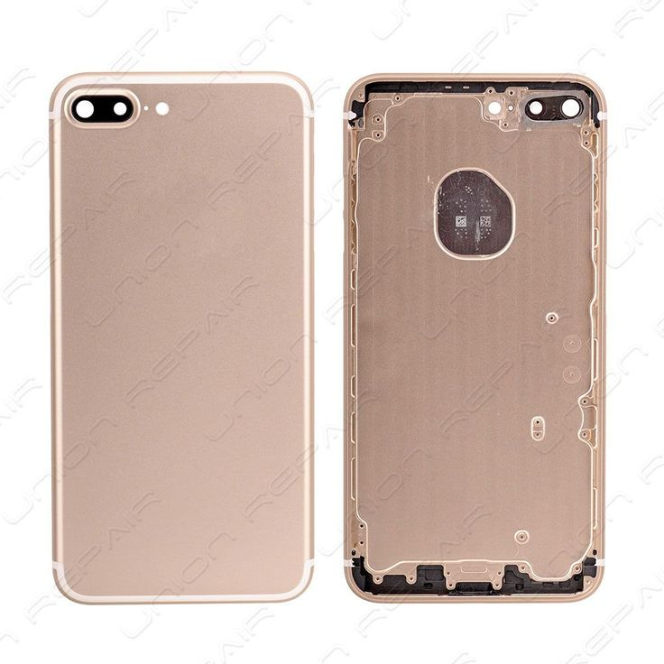Replacement for iPhone 7 Plus Back Cover - Gold    Compatible With: Apple iPhone 7 Plus    Specification:  Color: Gold  Material: Aluminum  Compatibility: For iPhone 7 Plus    Features:      	&nbs...