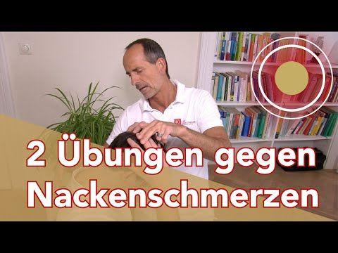 Nackenschmerzen?? Übungen vom Schmerzspezialisten - YouTube