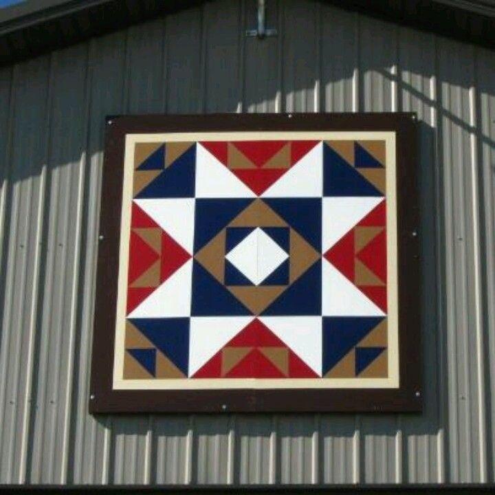 40 best Barn Quilts images on Pinterest Barn art Barn quilt Impressive Quilt Patterns On Barns