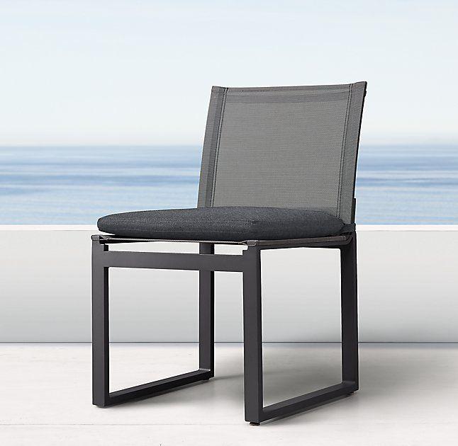 Aegean Aluminum Side Chair Cushion