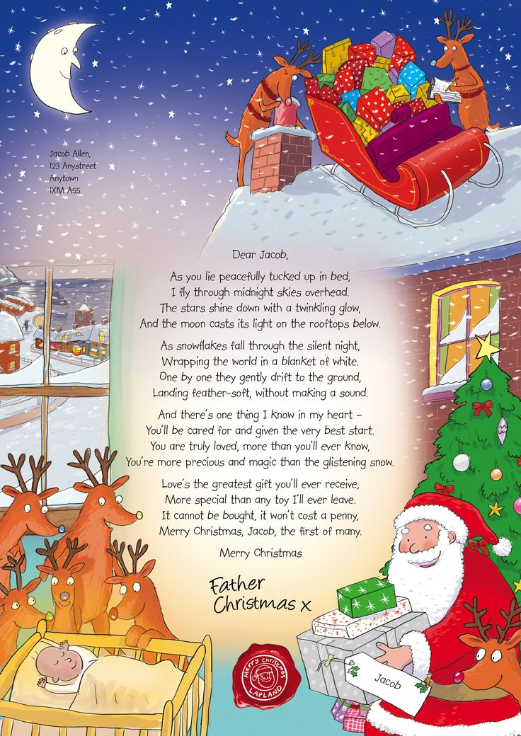 Support the NSPCC Letters From Santa campaign. Just £5 will get a beautiful illustrated personalised letter for your child from Santa and support a child in need.