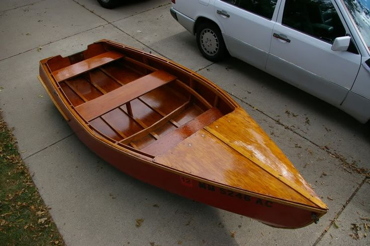 Plywood Skiff - could we turn it into a dale boat?!