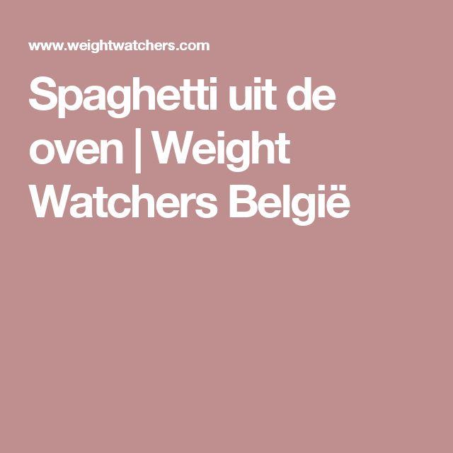 Spaghetti uit de oven | Weight Watchers België