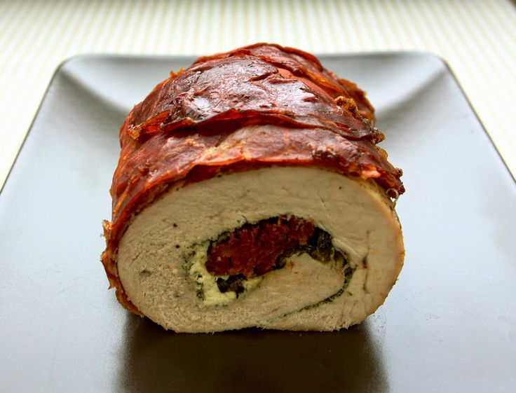 Codziennik Kuchenny - proste przepisy na niecodzienne potrawy: Rolada z indyka z suszonymi pomidorami