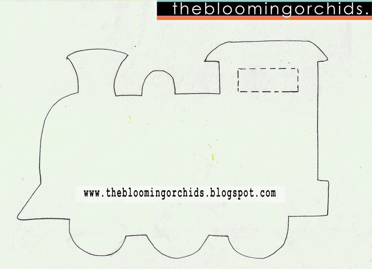 14 best felt train images on pinterest trains activities and thomas the train party with free printables pronofoot35fo Images