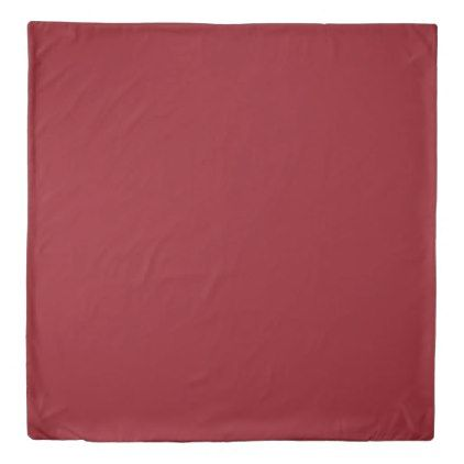 Ruby Red Duvet Cover - red gifts color style cyo diy personalize unique