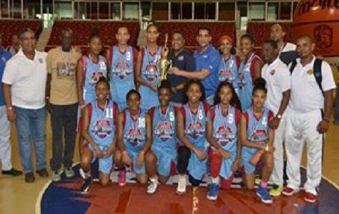 Distrito Nacional campeón del baloncesto femenino U-16