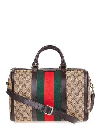 Amazon.com: Gucci Bag (F-07-Ta-27892) - dark brown: Shoes