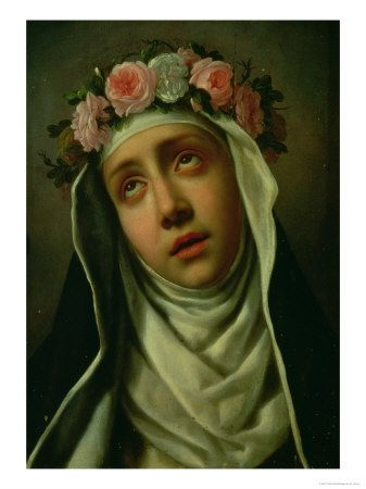 saint rose of lima St. Rose of Lima   1st canonized saint of the Americas...what true beauty is, true beauty does