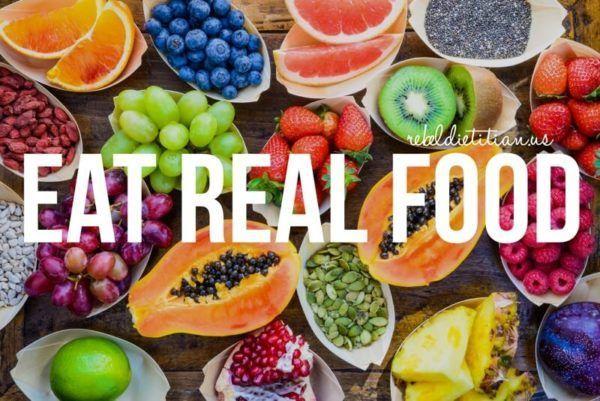 Eat Real Food   rebelDIETITIAN.US