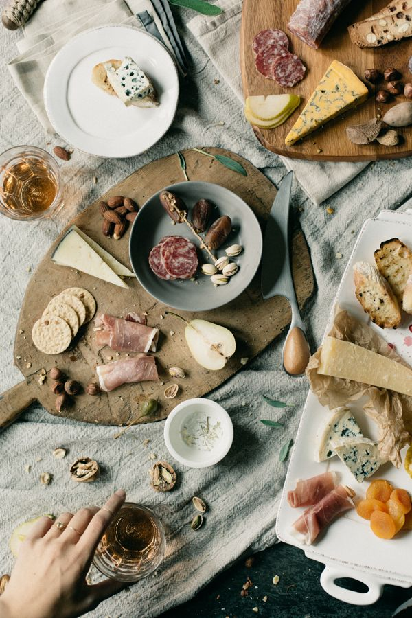 Charcuterie Wedding Appetizer Ideas with Zola via oncewed.com #food
