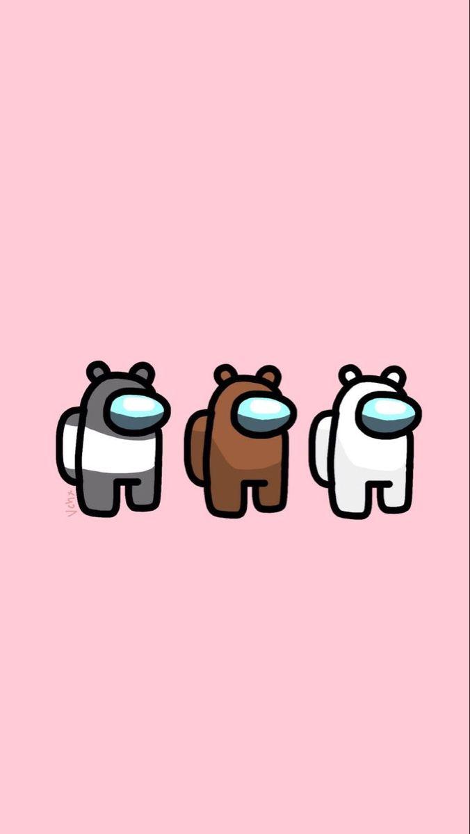 Among Us Wallpaper Iphone Cute Bear Wallpaper Funny Phone Wallpaper