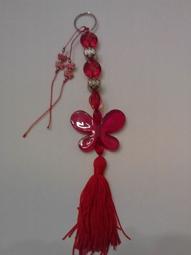 Red Keychain - 5 pounds