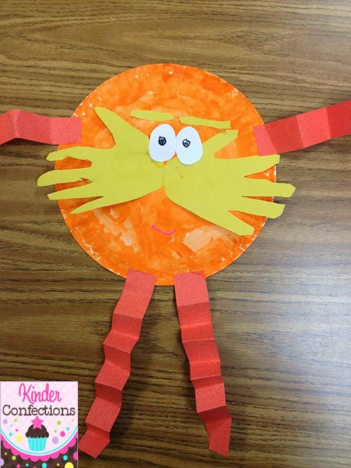 1000 images about preschool dr suess on pinterest hand for Dr seuss crafts for preschool