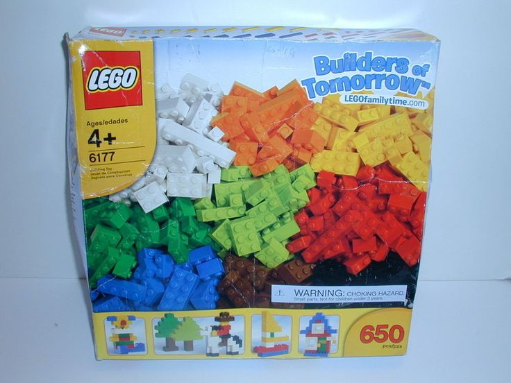 New LEGO Bricks & More BUILDERS OF TOMORROW #6177 Sealed Packages 650 Pieces #LEGO