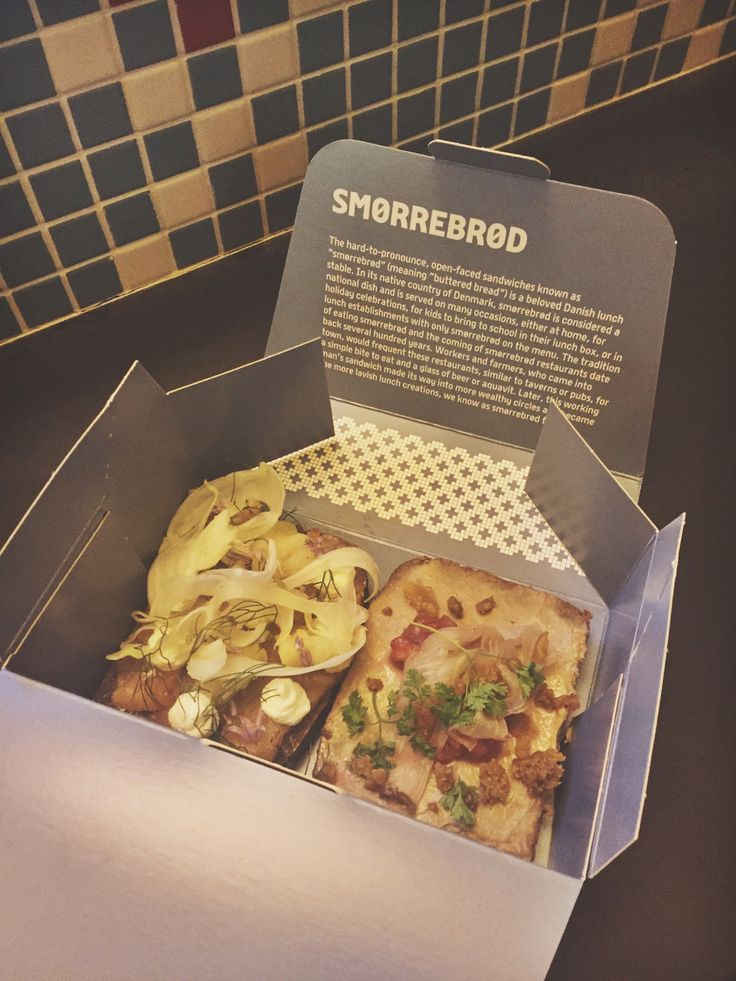 Why you should visit the Great Northern Food Hall in NYC Grand Central Station - Danish food smørrebrød