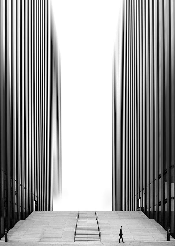 #architecture #design #photography #black and white - Peter Writer