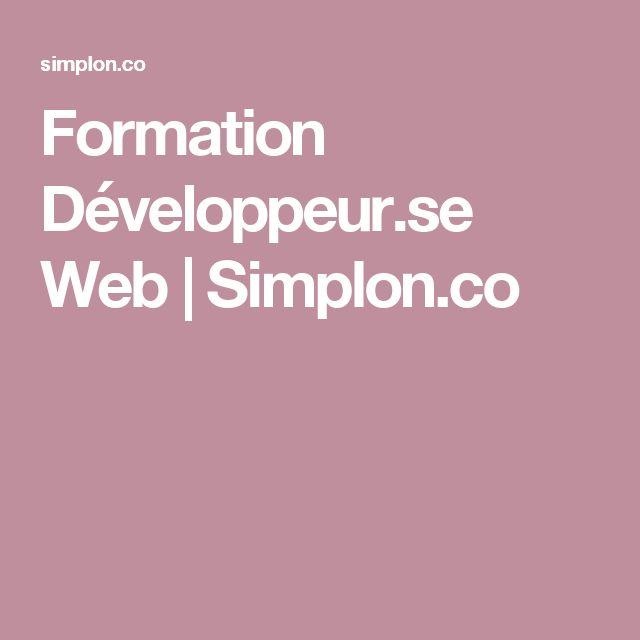 Formation Développeur.se Web | Simplon.co