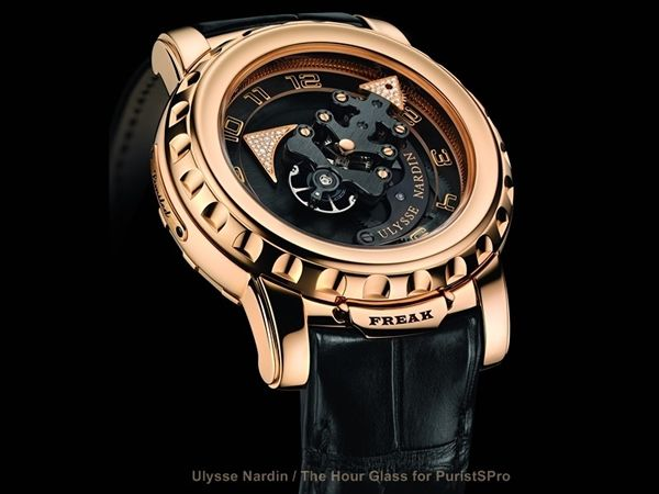Ulysse Nardin Freak Limited Edition is available at The Hour Glass boutiques