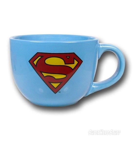 Images of Superman Symbol 24 oz Soup Mug