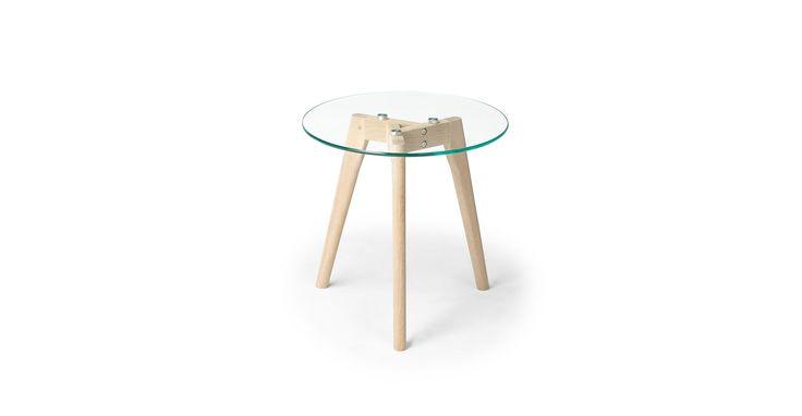 Clarus Oak Side Table